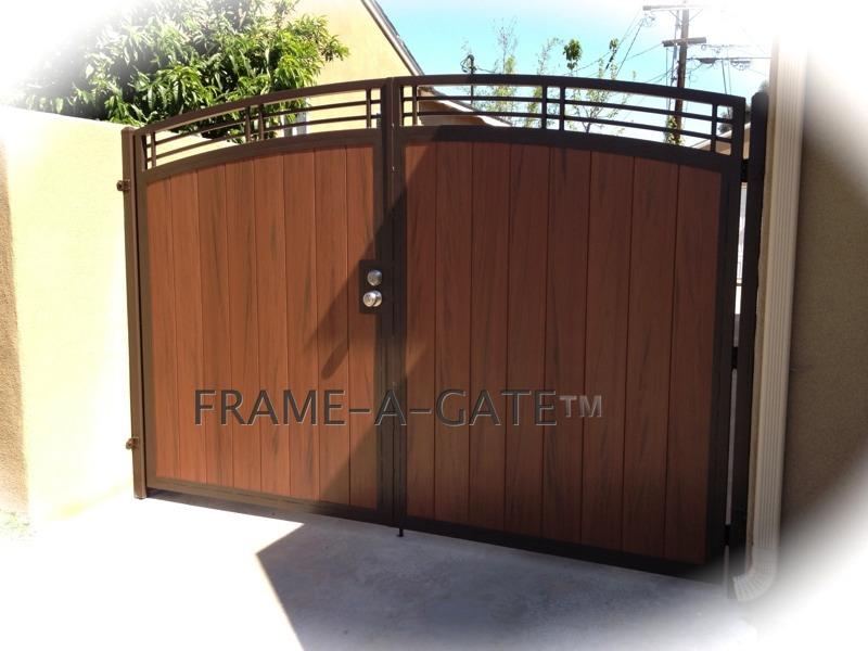 Steel Framed Vinyl Gates
